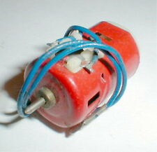 Vintage 1960's Red Bomb Motor X10 with 8T pinion 6 Volt by Buzco NOS Slot Car