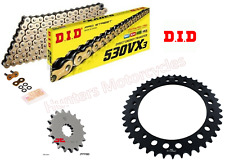 DID Gold X-Ring Chain 530ZVMX118 for Yamaha YZF-R1 4C8 2007-2008