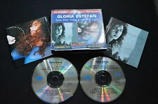 GLORIA ESTEFAN TWO ORIGINALS RARE AUSTRALIAN 2 X CD FATBOX!