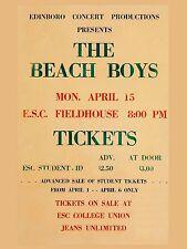 "The Beach Boys 1963 Univ 16"" x 12"" Photo Repro Concert Poster"