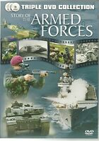 STORY OF THE ARMED FORCES - THE ARMY, THE NAVY & THE RAF - 3 DVD BOX SET