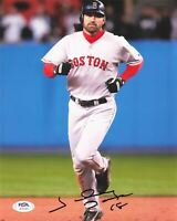 Johnny Damon signed 8x10 photo PSA/DNA Boston Red Sox Autographed