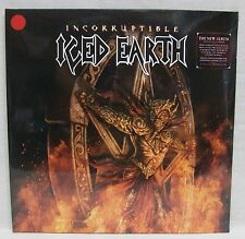 """NEW Iced Earth """"Incorruptible"""" 2-LP Red 180gm Vinyl Record Etched 500-Pressed DX"""