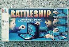 Vintage 1984 Battleship Naval Strategy Board Game Milton Bradley Complete