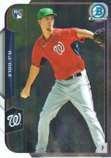 2015 Bowman Chrome Baseball #166 A.J. Cole RC