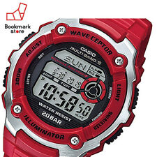 CASIO Sports Gear Radio Control Watch 20BAR Red-Color WV-M200-4AJF Men's F/S