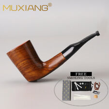 MUXIANG Pearwood Tobacco Smoking Pipe Mini Pipe with Smoking Accessories Scraper