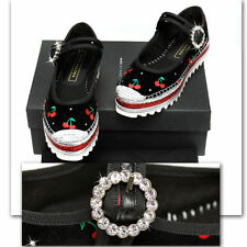 MARC JACOBS Jeweled / Cherry SHOES with Box & Bag (36)