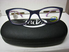 FADZ EYEGLASS FRAMES Style FZ20  in  PURPLE  46-16-130 NEW W/ Case