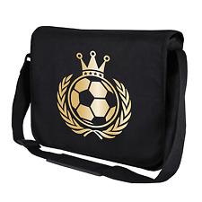 König Fußball | Krone | Soccer | EM | WM | Gold | Umhängetasche | Messenger Bag