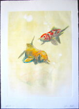 "John Battenberg, ""Ghost '09, 2009,"" Color Monotype"