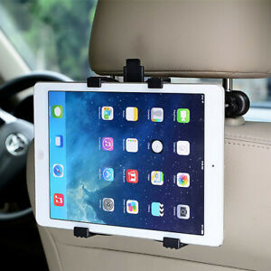 """Universal Holder Car Back Seat Headrest Mount For Tablets & iPad All (7"""" To 11"""")"""