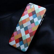 Coque Housse Etui carré art mode tendance  Pour IPhone 6 ( 4,7) CASE i phone