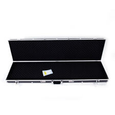 "53"" Long Aluminum Rifle Gun Case Cipher Lock Shotgun Storage Safe Box Carry Case"