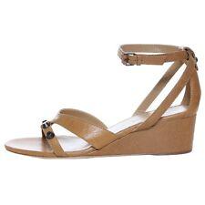 0f50853bb3e4 Balenciaga Area Leather Wedge Sandals Size 40