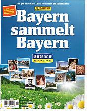 Bayern sammelt Bayern / Leeres Sticker  Album / 2013