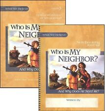 Apologia What We Believe Volume 3 - Who is My Neighbor? SET - Text & Notebooking