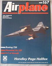 Airplane Issue 167 Handley Page Halifax Cutaway & Poster, Henschel Hs 129