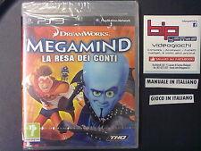 MEGAMIND LA RESA DEI CONTI PS3 PLAYSTATION 3 PAL NUOVO SIGILLATO
