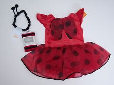 NWT Gymboree 12-18 Months Ladybug Tutu Costume Dress Headband & Tights