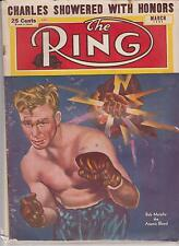 THE RING MAGAZINE BOB MURPHY COVER MARCH 1951