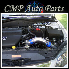 FIT:  MAZDA 6 2.3 2.3L COLD AIR INTAKE KIT KIT INDUCTION SYSTEMS 2003-2008 BLUE