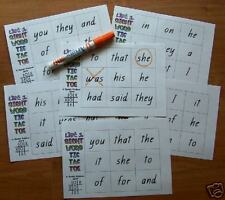 SIGHT WORD NOUGHTS & CROSSES -Teacher Resource LITERACY