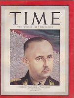 OCT 11 1943 vintage TIME magazine - HIENRICK HIMMLER