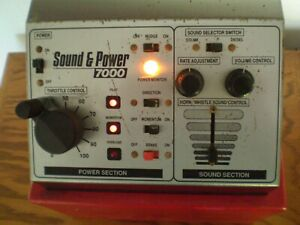 MRC SOUND & POWER 7000 TRAIN POWER CONTROL TRANSFORMER HO/N/G PREOWNED