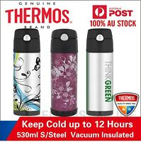 NEW Thermos S/Steel Vaccum Insulated Hydration Drink Bottle 530ml. 100% Genuine!