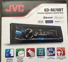 JVC KD-R870BT Car In-Dash Stereo - BRAND NEW