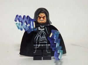 MINIFIGURES STARWARS EMPEREUR PALPATINE RARE custom compatible lego