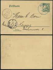 263/doa 1905 cartolina p18 mohorro Blu Via del dopo Lipsia esaminato formularono BPP