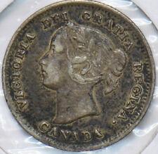Canada 1899 5 Cents Queen Victoria 293473 combine shipping