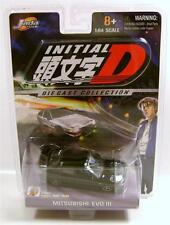 MITSUBISHI LANCER EVOLUTION EVO III INITIAL D DIECAST COLLECTION JADA TOYS RARE