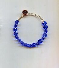 Gold bead bracelet Alex & Ani Blue