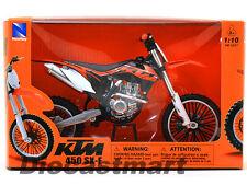 NEWRAY 57623 1:10 KTM 450-SXF 2012 DIECAST DIRT BIKE MOTORCYCLE ORANGE