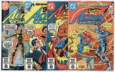 Action Comics #522 - 545  Complete Run  avg. NM 9.4  Superman  DC  1981  No Resv