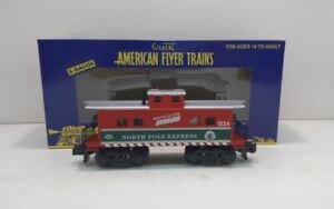 American Flyer 6-49062 S Scale Christmas Reindeer Route Caboose LN/Box