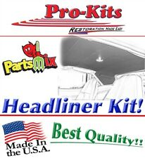 70 71 72 73 74 Plymouth Cuda Headliner Sail Panels Covered Perforated Material Fits 1973 Barracuda