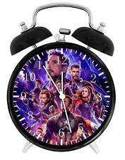 """The Avengers Endgame Alarm Desk Clock 4"""" Room Decor G12 Nice for Gifts"""