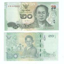 Thailand 20 bath Commemorative Banknote 2017 UNC x 5pcs running number