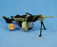 1:6 Action Figure G I Joe M249 Light Machine Gun LMG SAW Minim Model K1025_S