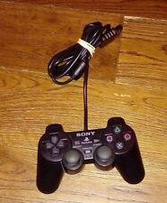 SONY PLAYSTATION PS2 DUALSHOCK 2 WIRED CONTROLLER FAULTY SPARES REPAIR ONLY
