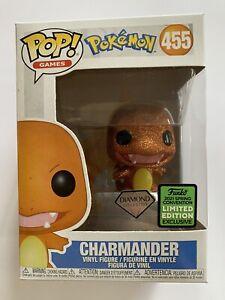 Charmander Diamond Pokemon #455 Funko pop! vinyl Convention RARE