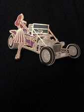 Disneyshopping.com Jessica Rabbit With Hot Rods Pink-T-Bucket Le 100 Pin