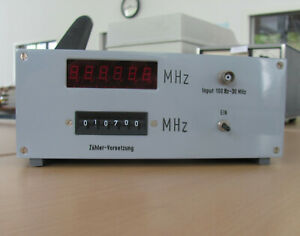 Frequenzzähler frequency counter