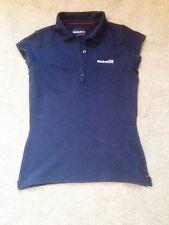 Reebok Navy Size 10 Cap Sleeve Polo Shirt