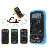 thermométrie multimètre numérique voltmètre ampèremètre ac dc ohm volts