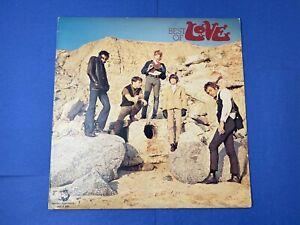 Love BEST OF LOVE LP Vinyl Record Album 1980 Rhino Records 60's Psych Rock